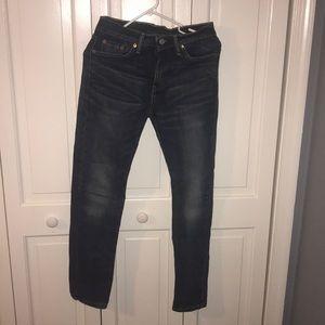 Levi's dark wash jeans 510
